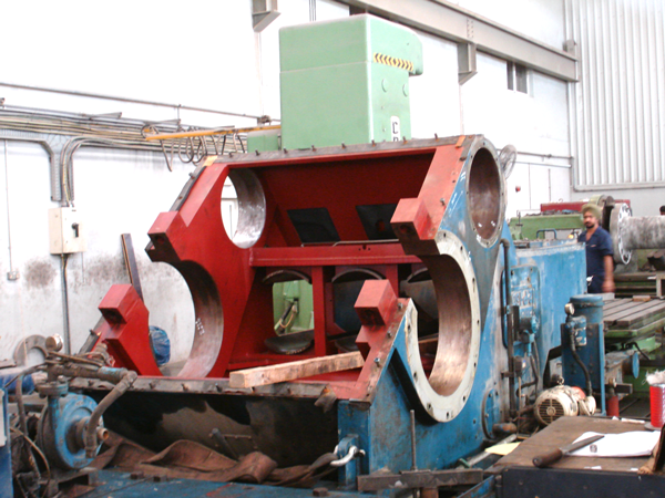 Heavy machining