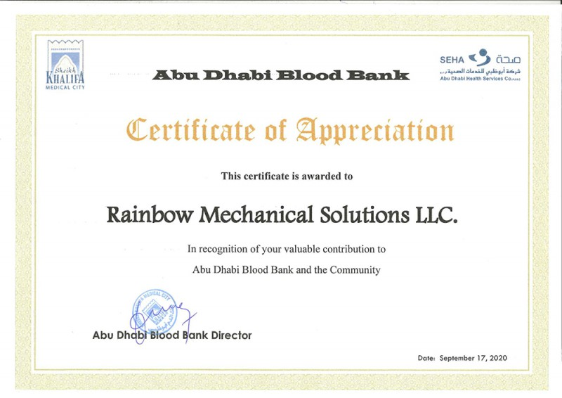 Rainbow joins hands with Mitsubishi to donate blood